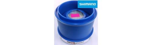 Bobines téflon pour moulinet Shimano