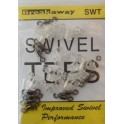Swivel Tees transparent breakaway - sachet de 10