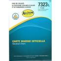 CARTE MARINE SHOM 7323L PAS DE CALAIS BOULOGNE SUR MER