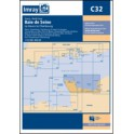 CARTE MARINE IMRAY C32 BAIE DE SEIGNE LE HAVRE TO CHERBOURG