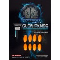 PERLES POSEIDON GUM GLOW RANGE UNDER WATER NARANJA ORANGE ---ndd