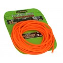 Elastique Creux - 2,6mm - Orange - 3m - FUN FISHING