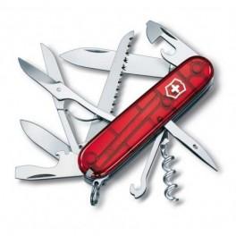 COUTEAU SUISSE VICTORINOX HUNTSMAN RED TRANSP 1.3713.T
