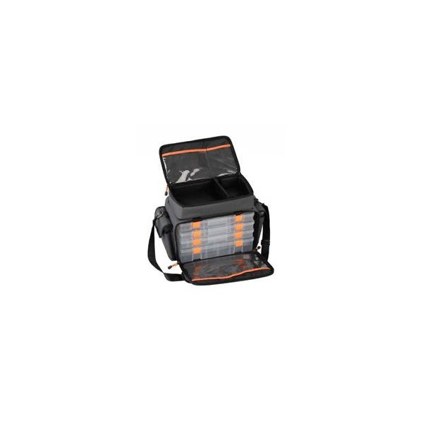 SAC SAVAGEAR Lure Specialist Bag M 6 boxes (30x40x22cm) alciumpeche
