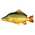 Coussin Peluche poisson CARPE MIROIR 61 CM