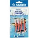 BAS DE LIGNE  FLASHMER FLUOLINE 4 2-0 50-100