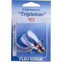 HAMECON TRIPLE FLASHMER BLISTER 2x CARBONE TRIPLEBAR 1-O