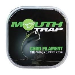Mouth Trap 15 lb0.43mm  - KORDA