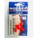 PERLE COLMIC  OVAL BEAD N.4 9 x 21 Rouge --- ndd