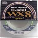 TRESSE YGK WX8 R SP G SOUL GREEN PE0.8 12LB
