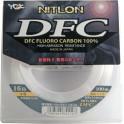 NYLON YGK FLUOROCARBONE NITLON DFC 20 LB – PE 4,5 – 0,378 -  100M