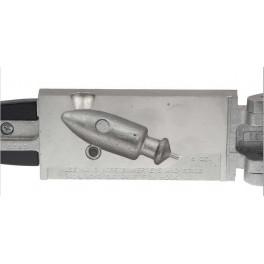 MOULE A PLOMBS DO-IT Têtes Plombées Fusée 224 Grs SPI18B -  M3283
