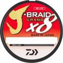 TRESSE DAIWA JBRAID GRAND 22/100 17kg – 135 M gris ---ntt