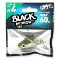 1 Tete Plombée FIIISH kaki - Deep 60g Black Minnow 140