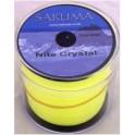 NYLON SAKUMA Nite Crystal Jaune 0,350mm - 1000M - 18 Lbs - 9kgs