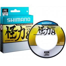 TRESSE SHIMANO Kairiki  150m Verte 0.28mm 29.3kg ---ntt
