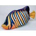 COUSSIN PELUCHE POISSON ANGE - THE REGAL ANGELFISH 56 CM