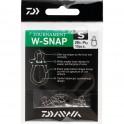 AGRAFE DAIWA WSNAP TAILLE M - 20kG - SACHET DE 10 PCS