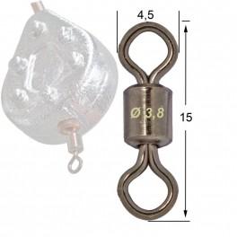 ATTACHE ROLLING SN6 SACHET DE 50 - MOU3011 - pour moules à plombs