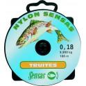 NYLON SENSAS SPECIAL TRUITE 100M D.0,22