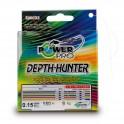 TRESSE POWER PRO 300m 0,36mm 30kg Depth Hunter Multicolor ---ndd