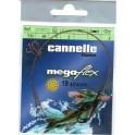 AVANCON MEGAFLEX 5 Kg - 1 Boucle - 1 Hameçon simple n° 2 - 40 cm ---ndd
