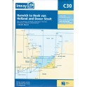 CARTE MARINE IMRAY C30 HARWICH TO HOEK VAN HOLLAND