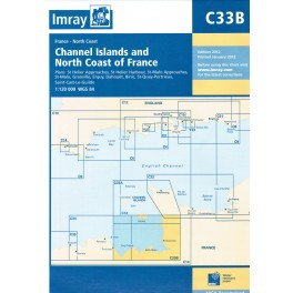 CARTE MARINE IMRAY C33B CHANNEL ISLAND (SOUTH) 12