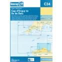 CARTE MARINE IMRAY C34-1 CAP D'ERQUY TO ILE BATZ