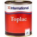 PEINTURE TOPLAC ROUGE BOUNTY 350 0.75L LAQUE MONO - INTERNATIONAL