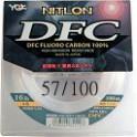 NYLON YGK FLUOROCARBONE NITLON DFC 40 LB – PE 12  -  0,570 -   50M